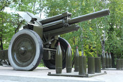 Artillery piece Royalty Free Stock Image