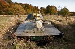 Artillery position Royalty Free Stock Photo