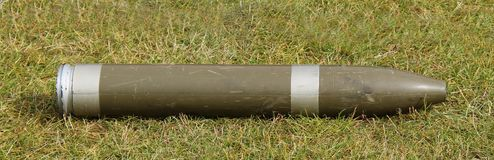 Artillery Shell. Royalty Free Stock Images