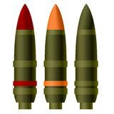 An artillery shell Stock Images