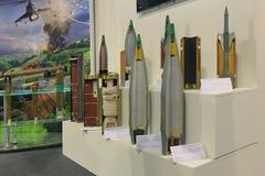 Artillery shells Stock Photography