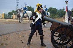 Artillery soldier Stock Photos