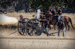 Artillery Strikes Back Stock Image