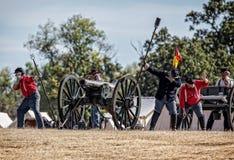 Artillery Strikes Back Royalty Free Stock Photos