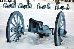Artillery War Canon at Valley Forge National Park royalty free stock photo