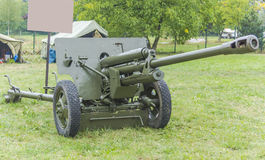Artillery weapon Stock Photography