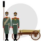 Artilleryman Royalty Free Stock Photos