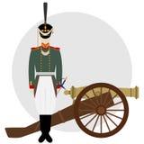 Artilleryman Stock Image