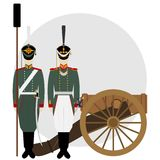 Artilleryman-3 Royalty Free Stock Images