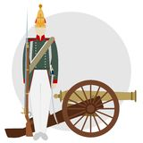 Artilleryman-1 Royalty Free Stock Photos