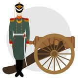 Artilleryman-2 Royalty Free Stock Photos