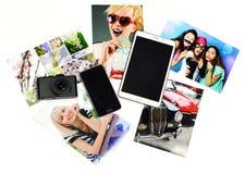Artilugios con las fotos impresas Fotografía de archivo libre de regalías