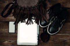 Artilugios de los accesorios de la ropa de las cosas Foto de archivo libre de regalías