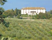 Artimino, Tuscany, Włochy, willa Medicea Firenze Ferdinanda, widok obrazy royalty free
