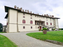 Artiminovilla in Toscanië Italië stock fotografie