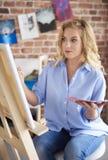 Artis-Frau Lizenzfreies Stockfoto
