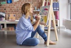 Artis woman Stock Photos