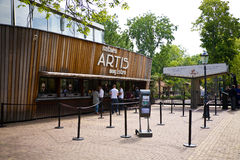 Artis Zoo, Amsterdam. The entrance of the Artis zoo in Amsterdam, Holland stock photography
