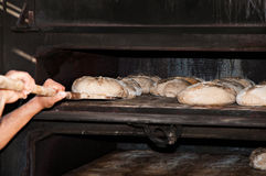 Artisan baker Stock Photography