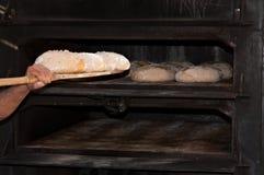 Artisan baker Stock Photo