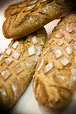 Artisan bread. Loaves of bread for sale in Avignon, France Stock Image