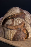 Artisan Bread Sourdough. On Cutting Board royalty free stock photo