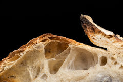 Artisan bread. Whole wheat, rye and seeds stock image