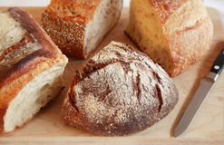 Artisan Breads Royalty Free Stock Photos