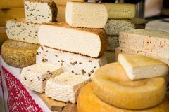 Artisan cheese fair 1 Stock Photography
