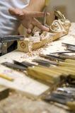 Artisan du bois Images stock