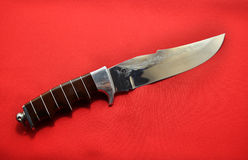 Artisan en acier de couteau Images stock