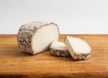 Artisan goat cheese Royalty Free Stock Image