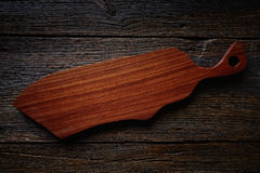 Artisan made wooden board from Mexico Stock Photo