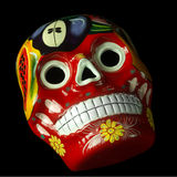 Artisan Mexican Skull Stock Photography