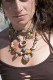 Artisan Necklace Stock Photo