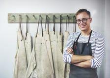 Artisan Professional Interest Cocnept de profession d'homme Photos stock