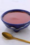 Artisan red hot chili sauce Stock Photos