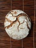 Artisan round bread. Artisan round whole bread, fresh baked Stock Image