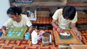 Artisan, Siem Reap, Cambodia Royalty Free Stock Photo