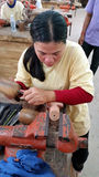 Artisan, Siem Reap, Cambodia Royalty Free Stock Photos