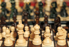 Souvenir chess set Royalty Free Stock Images