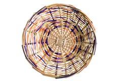 Artisan Wicker Basket Royalty Free Stock Photos
