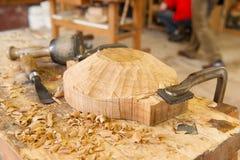 Artisan wood work Royalty Free Stock Photo