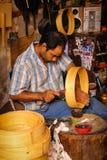 Artisan at work. Marrakesh. Morocco. An artisan working at the Souk. Marrakesh. Morocco Stock Photos