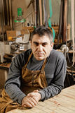 Artisan in workshop Stock Photography