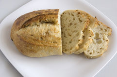 Artisanaal brood stock foto