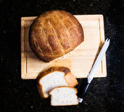 Artisanaal brood stock foto's