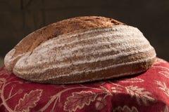 Artisanaal Brood in een Mand 3 Stock Foto