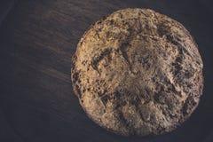 Artisanaal brood zonder gluten-vrije gist, bakpoeder Stock Foto's