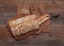 Artisanaal broodbrood stock foto's